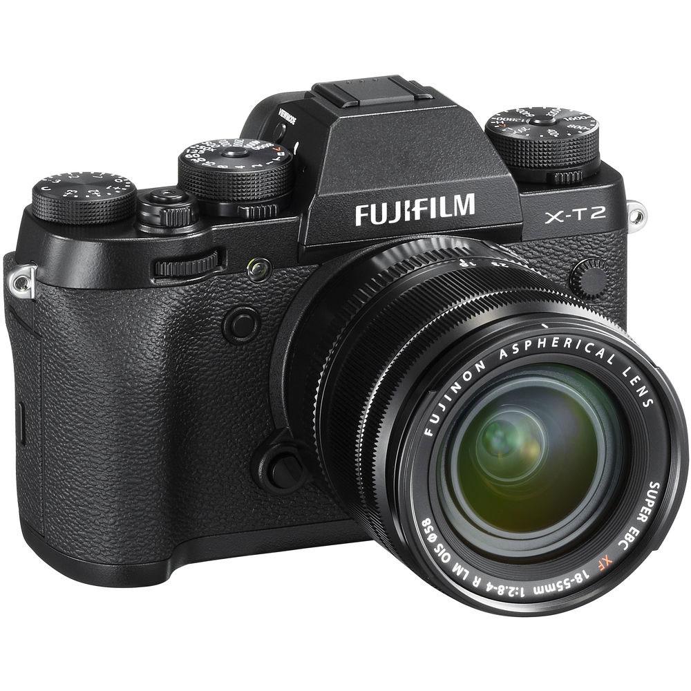 Kamera Fujifilm X T2 Kit Xf 18 55mm F28 4 R Lm Ois Black Xt2 Graphite Silver Garansi Resmi Indonesia Mirrorless Tas